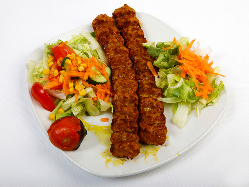Koobideh with Bread (A)