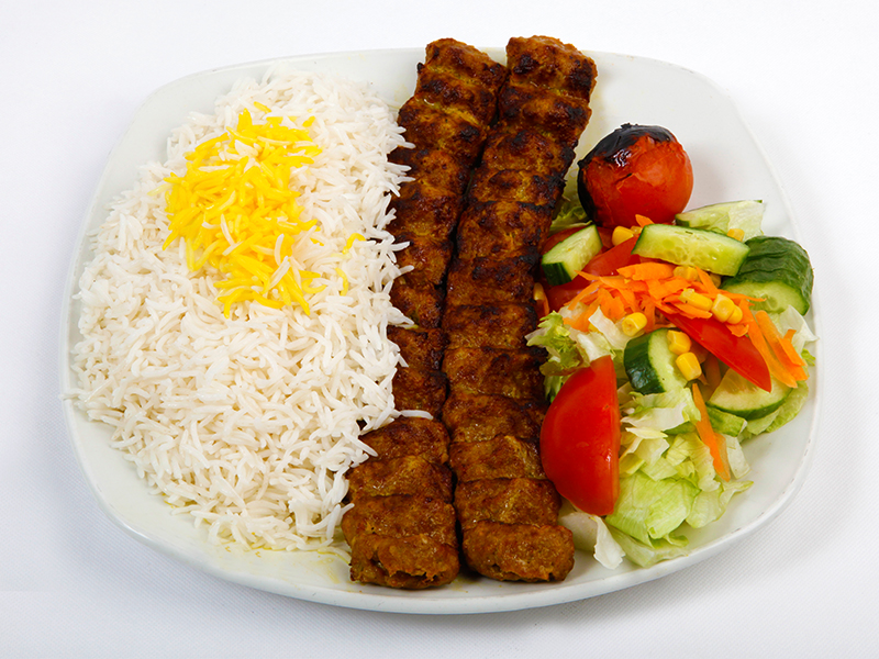 Koobideh with Rice (A)